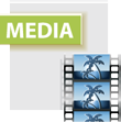 Video media button